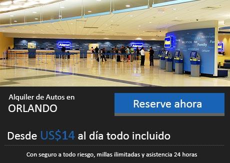 Alquiler de Autos Orlando Aeropuerto