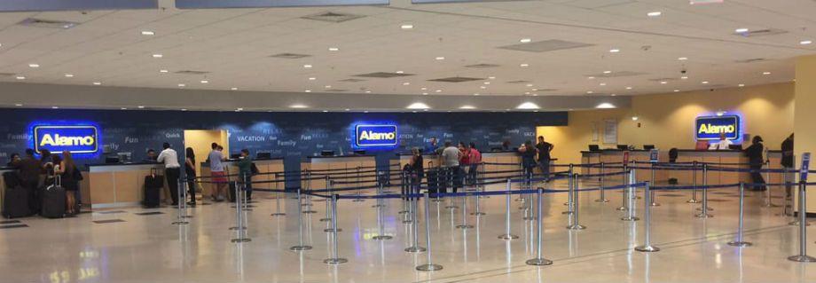 Alamo Rent a car Orlando Aeropuerto