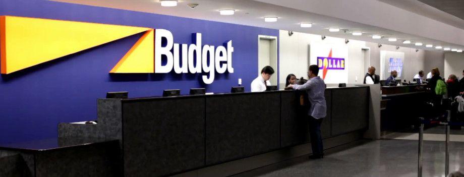 Mostrador Budget Orlando